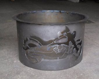 Fire Pit Fire Ring Metal Custom Outdoor Portable