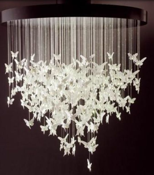 Origami chandelier i want to make one future house pinterest origami chandelier i want to make one mozeypictures Choice Image