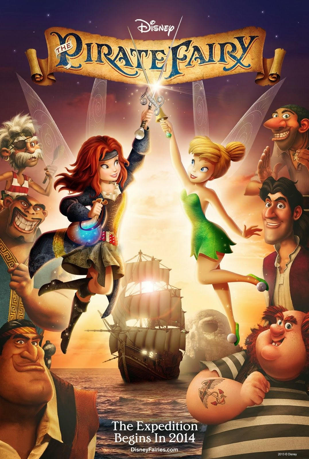 The Pirate Fairy Movie Posters Photos Childhood Animated Heroines Tinkerbell