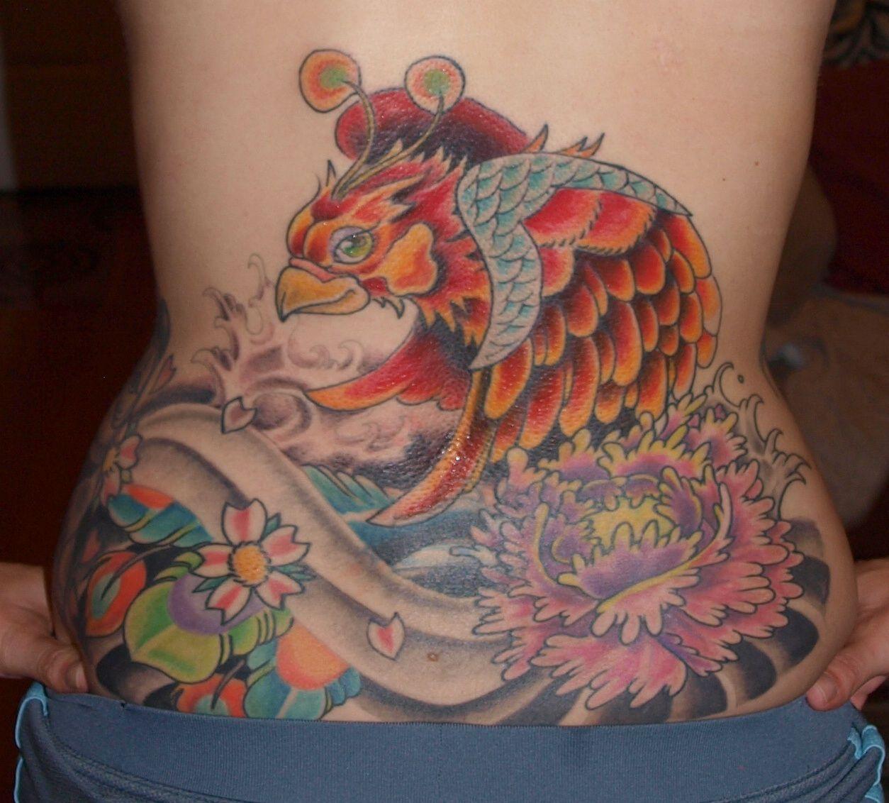 My japanese phoenix tattoo tattoos phoenix tattoo