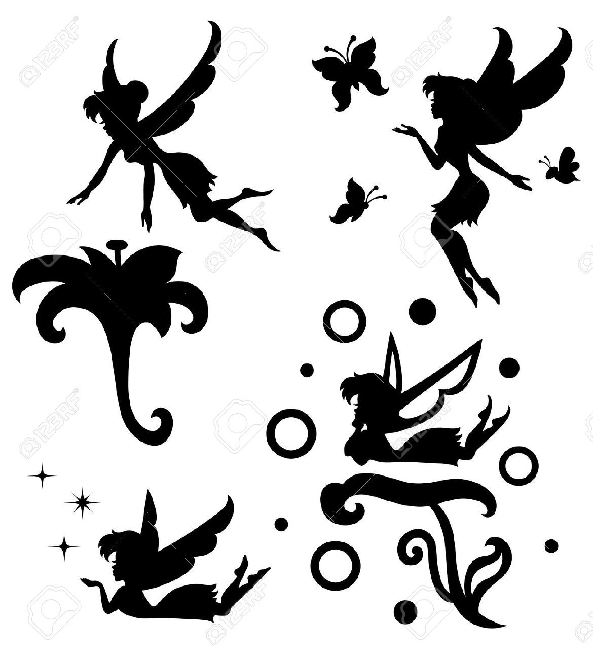 Fairy In Window Silhouette - Google Search