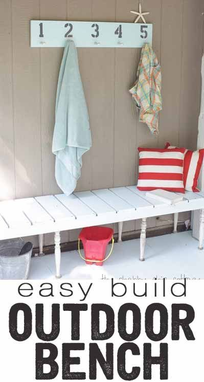 outdoor bench tutorial an easy diy project easy diy projects