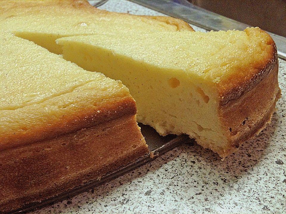 Einfacher Quarkkuchen ohne Boden von Estrellaks | Chefkoch
