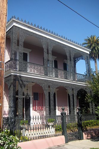 New Orleans Garden District Musson Bell House With Images