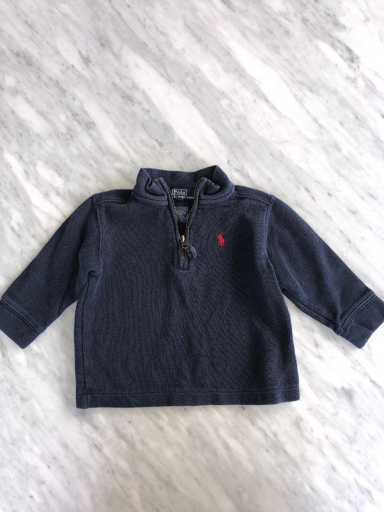 008485248ca8 Ralph Lauren Baby Boy Size 18 Month Zip Up Sweater  fashion ...