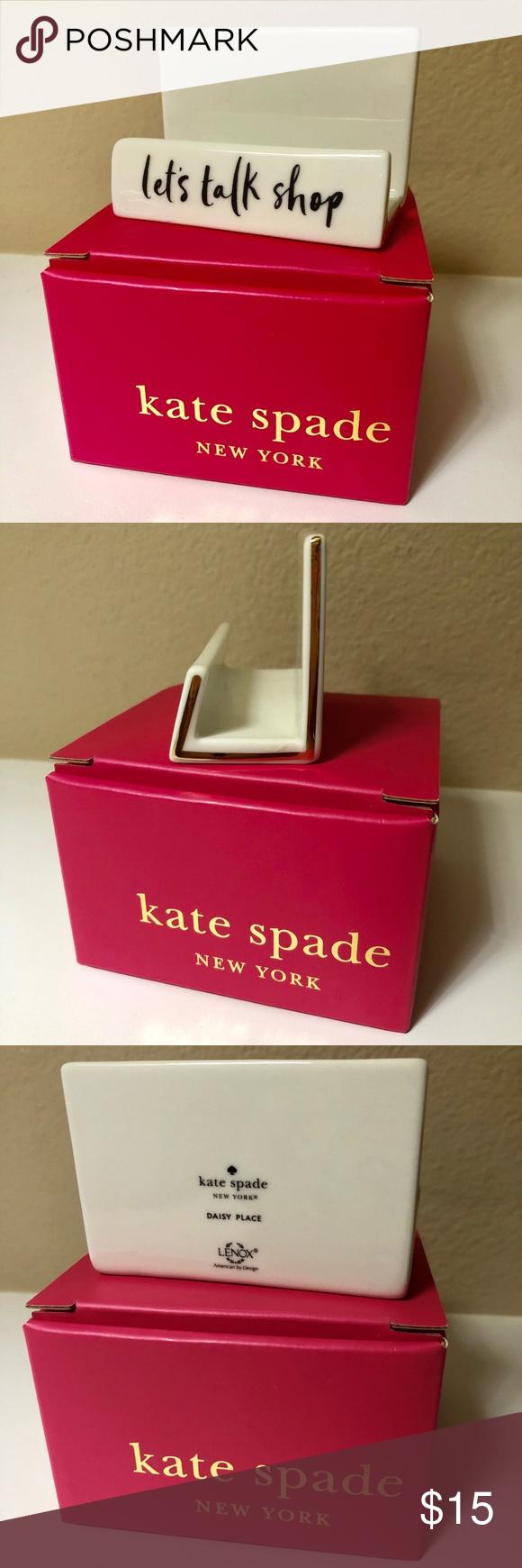 Kate Spade Ny Desktop Business Card Holder Kate Spade Business Card Holders Kate Spade Ny