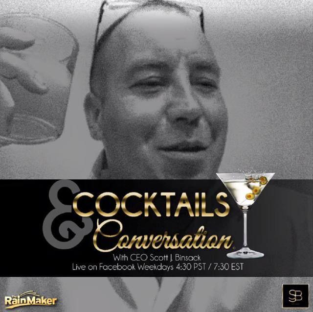 """Scott J. Binsack"" Live Cocktails"