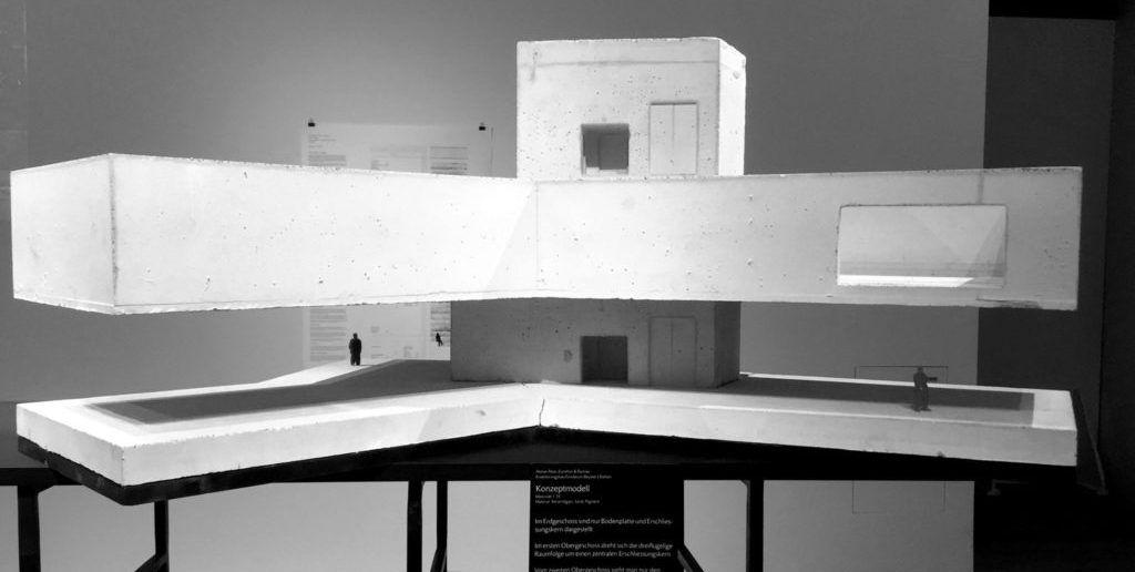 Die Pläne zum Projekt von Zumthor für die Fondation