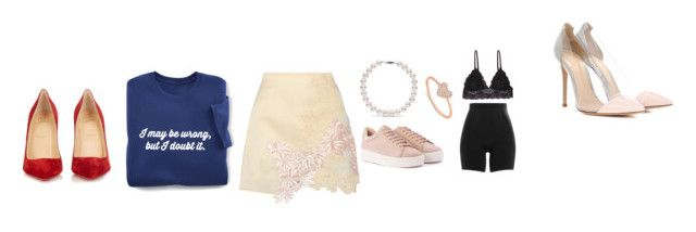 """""""R"""" by biebersqueen15 on Polyvore featuring 3.1 Phillip Lim, Gianvito Rossi, Christian Louboutin, Anne Sisteron, SPANX and Humble Chic"""