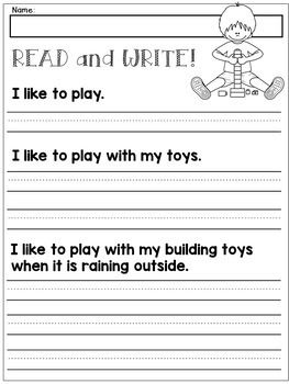 first grade handwriting practice expanding simple sentences dana 39 s wonderland tpt products. Black Bedroom Furniture Sets. Home Design Ideas