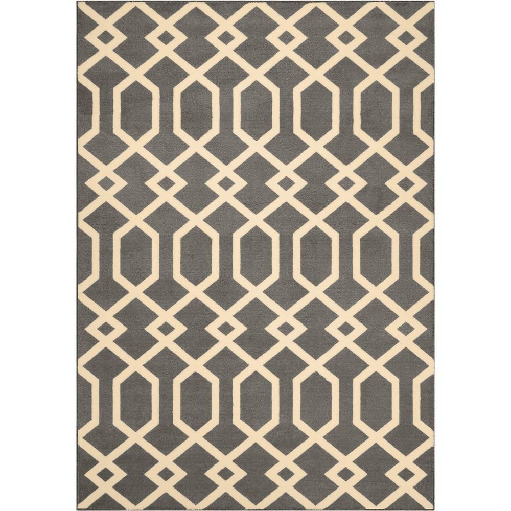 Exeter Elephant Gray Area Rug Two
