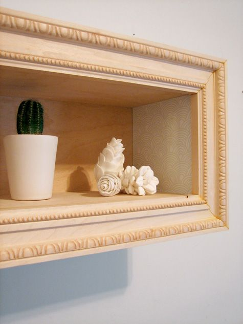 diy project: framed display box | To Makes | Frame display