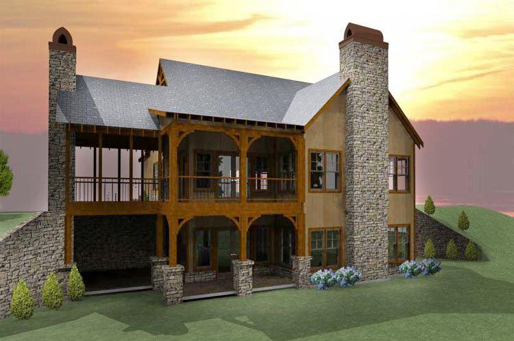 Plan 92323mx Unique Sunken Floor Plan In 2021 Porch House Plans Cottage Homes Cottage House Plans