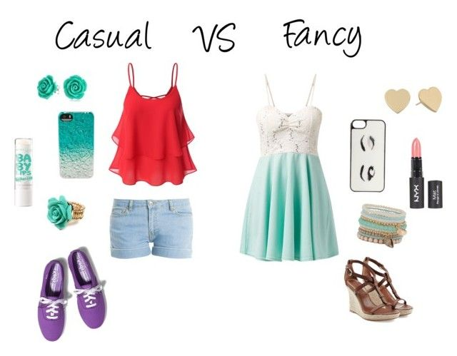 """""""Casual VS Fancy"""" by lil-missc ❤ liked on Polyvore featuring Paul & Joe, Keds, Maybelline, Marc by Marc Jacobs, Burberry, Kate Spade, Amrita Singh, Bling Jewelry, Cameo Rose and ALDO"""