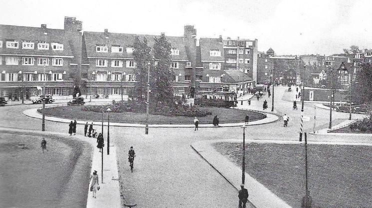Amsterdam West: Het Surinameplein in 1935