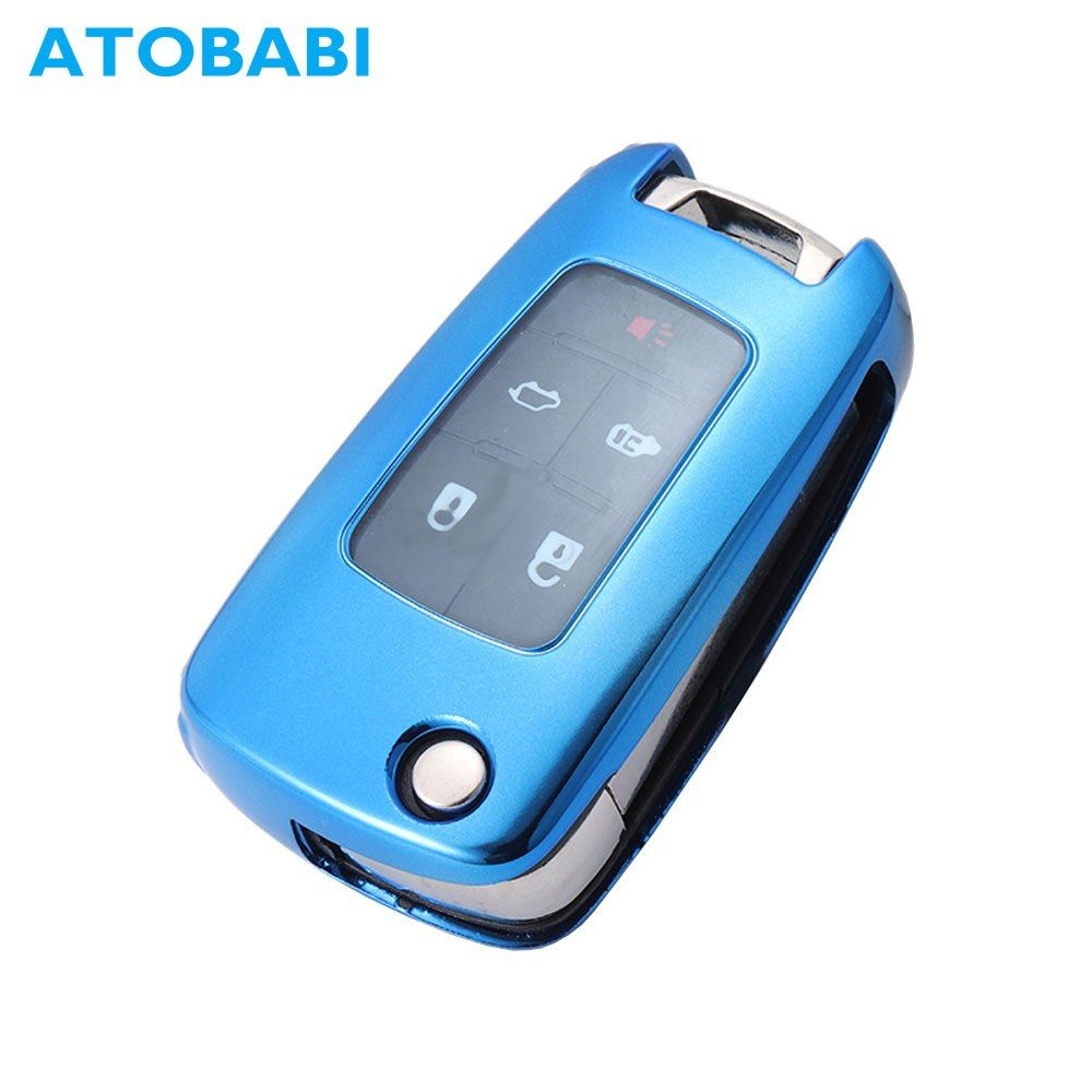 Atobabi tpu car key case remote fob shell holder protector