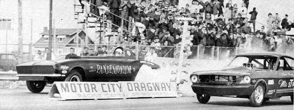 Motor City Dragway - OLD PIC FROM RON GROSS | Drag cars