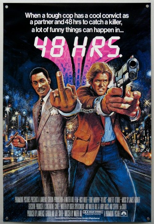 48 HOURS poster | my favorite movies | Pinterest | Movie ...