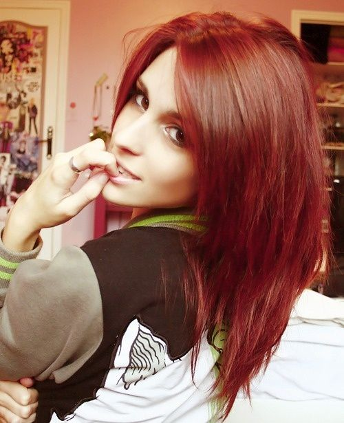 I want this color hair <333