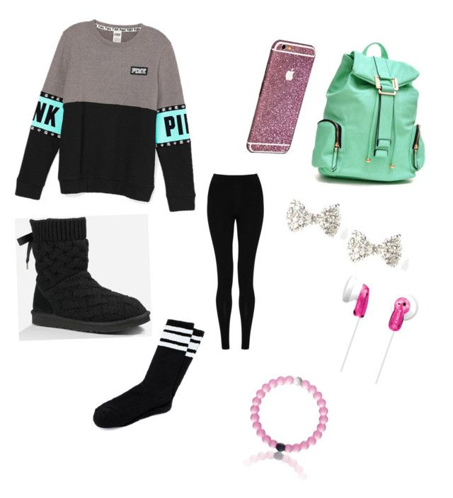 """Outfit#1"" by sophiect ❤ liked on Polyvore featuring мода, M&S Collection, UGG Australia, Dasein, Sony, women's clothing, women's fashion, women, female и woman"