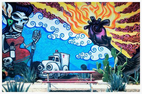 Street Art Roosevelt Row Arts District Phoenix Arizona Arizona Trip Arizona Travel Roosevelt Row