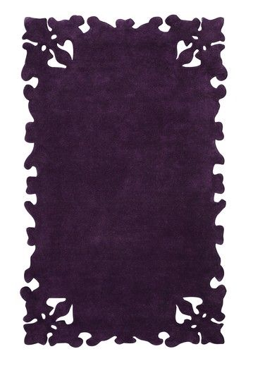 nuLOOM Couture Collection, Clarity wool rug - purple, 4'x6', 5'x8' 199, 399 - orig. 469, 819