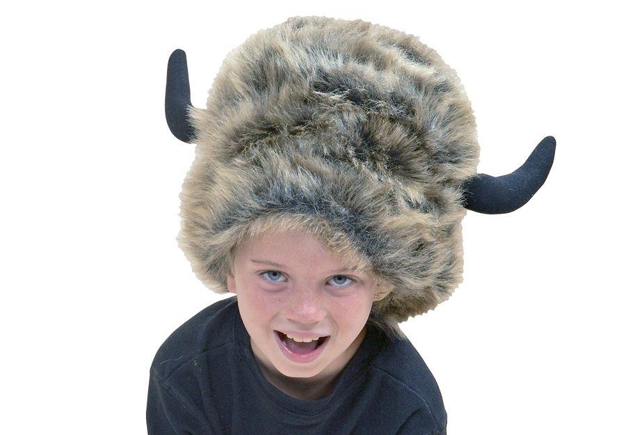 545ecd4c BUFFALO HAT - Plush, fits most kids & adults. | All About Hats ...