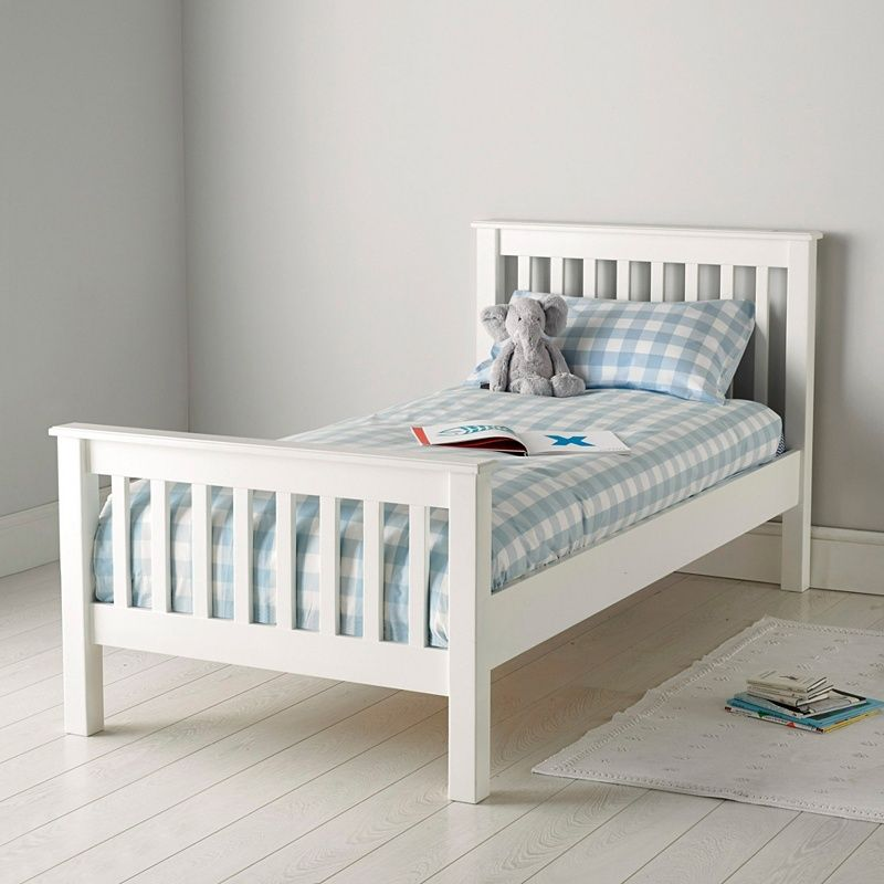 Classic Single Bed The White Company White Kids Bed Childrens Bedroom Furniture Single Bed Frame