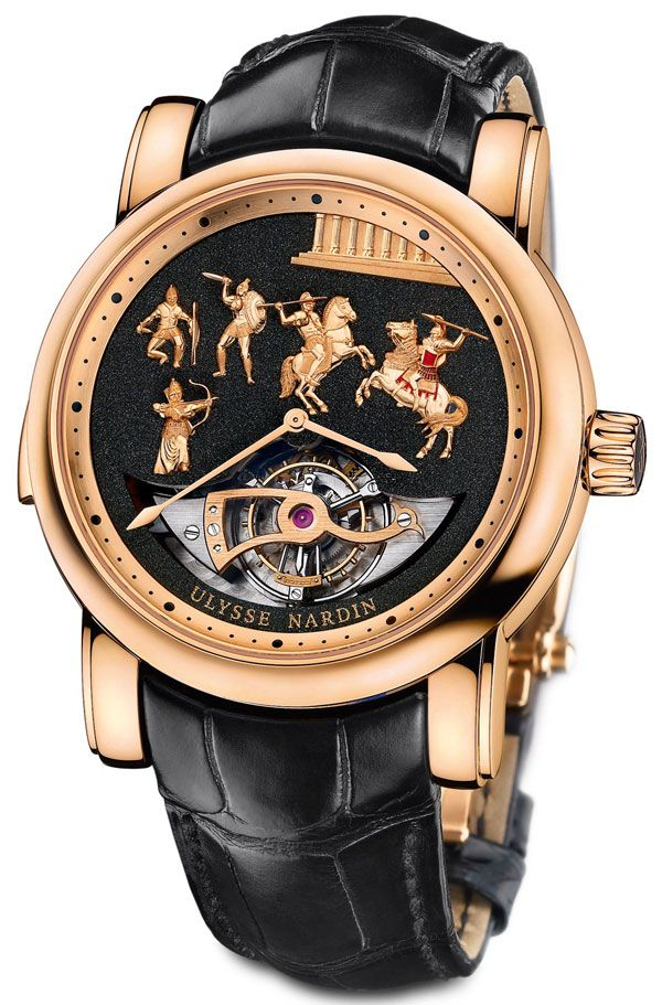 Ulysse Nardin Alexander The Great Minute Repeater Westminster Tourbillon  Carillon Jaquemarts b3b73bed4a0