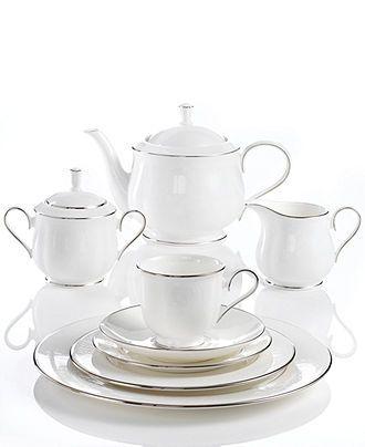 Lenox Hannah Platinum Collection | China patterns, China and Dining ware