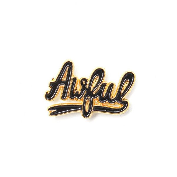 High Quality Awful Lapel Pin ($7.99) ❤ Liked On Polyvore Featuring Jewelry, Brooches, Pin  Brooch And Pin Jewelry