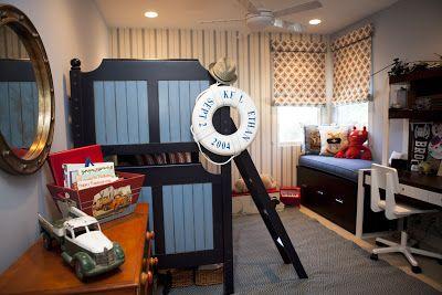 Nursery Notations: Nautical Boy's Room