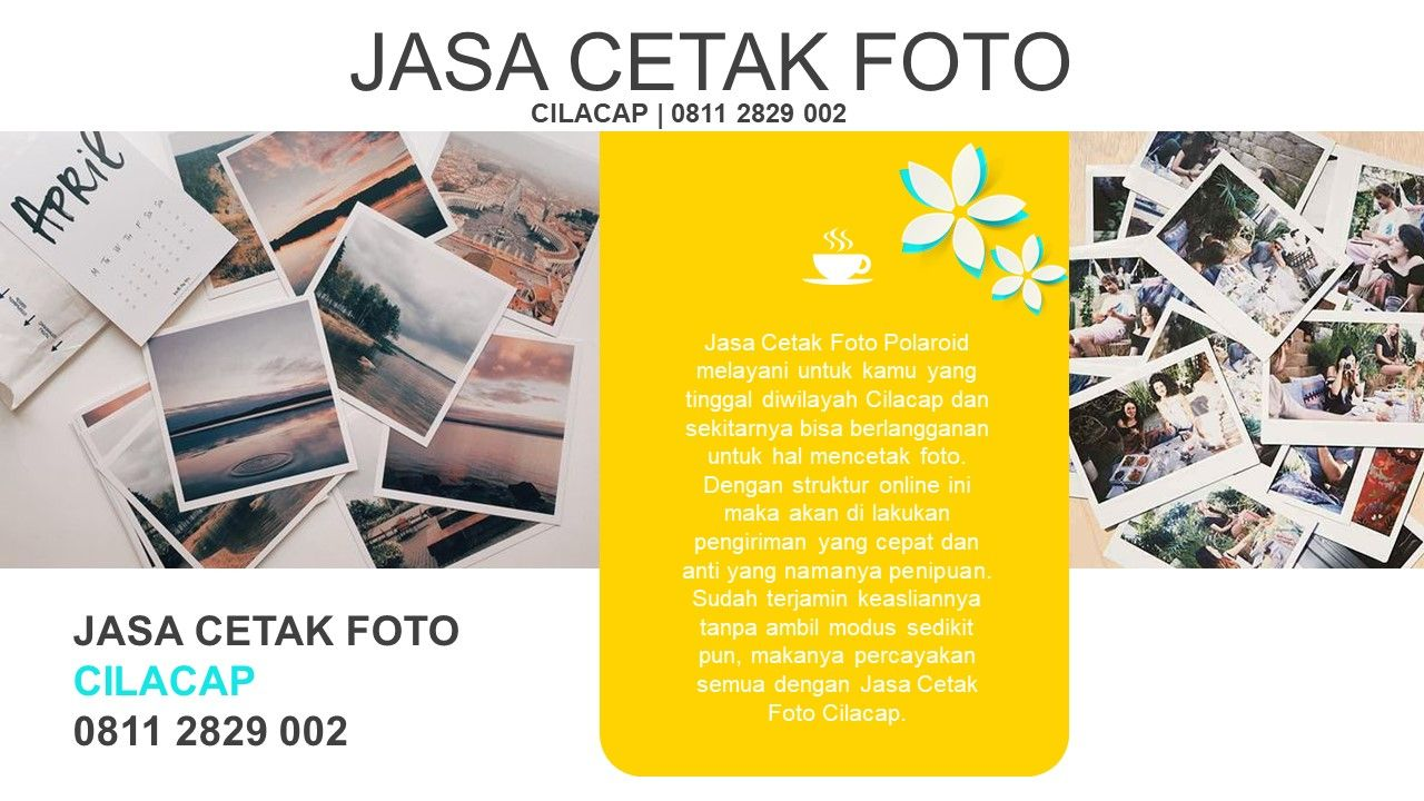 Di Jasa Cetak Foto Tidak Hanya Mencetak Polaroid Yang Original