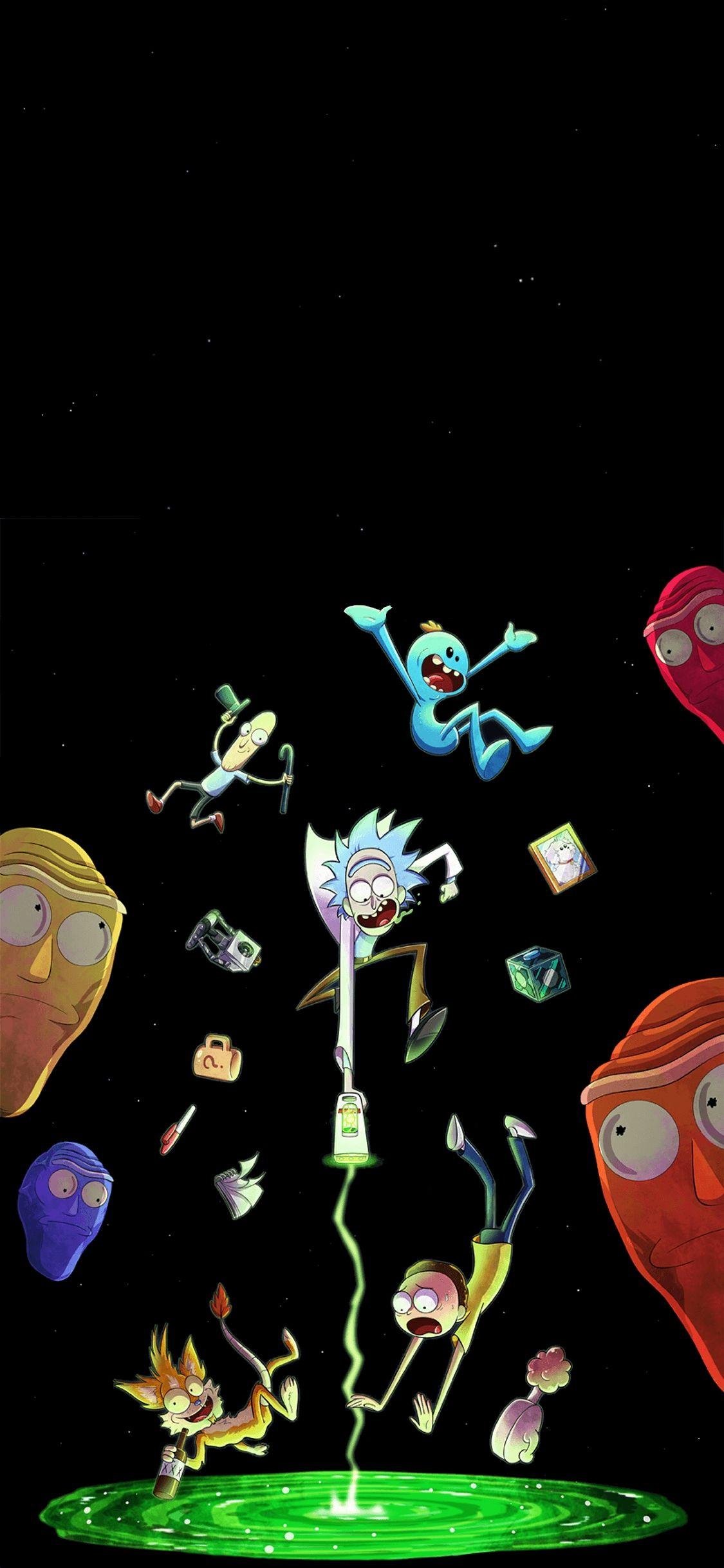 Rick And Morty Iphone Wallpapers Top Free Rick And Morty Pertaining To The Mo Em 2020 Imagem De Fundo Para Iphone Papel De Parede Supreme Papeis De Parede Psicodelicos