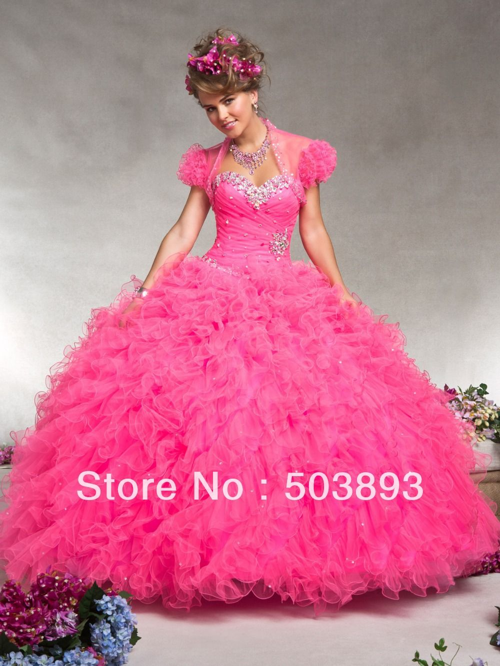 neon hot pink quinceanera dresses - Google Search | Quince ideas ...