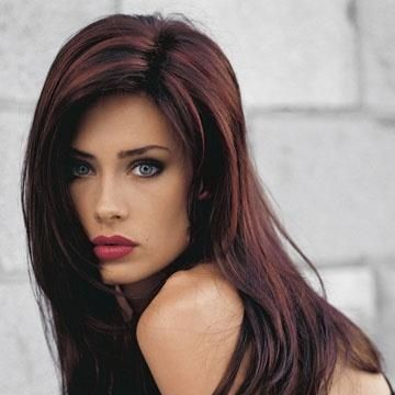 20 Stylish Hair Highlights for 2014   Red hair, Dark brown and Hair ...
