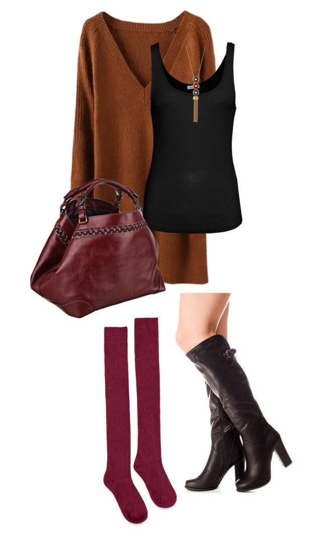 """""""Untitled #498"""" by indirareeves ❤ liked on Polyvore featuring American Vintage, Caroline De Marchi, Forever 21 and Tory Burch"""