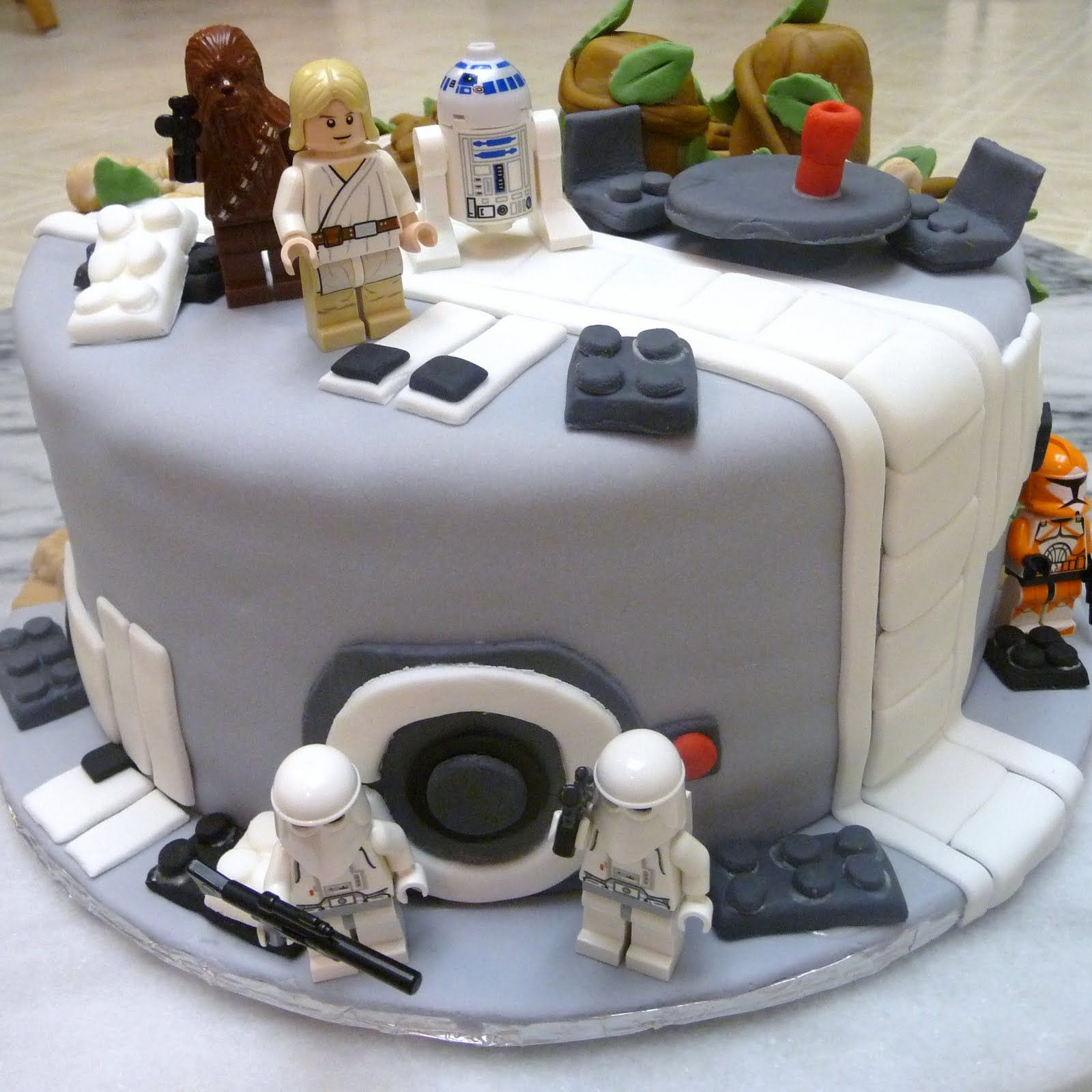 Star Wars Birthday Cakes Star Wars Cakes Decoration Ideas