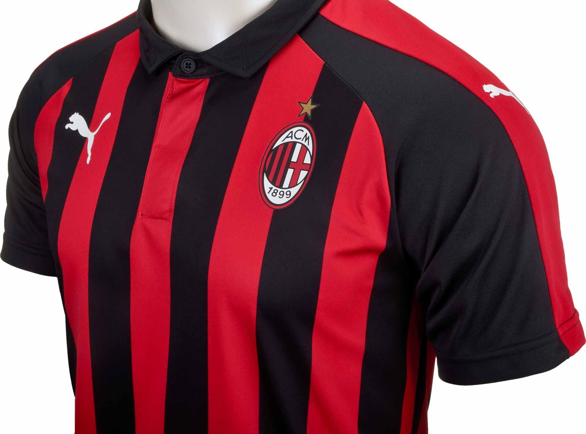 info for 1d27e eb820 PUMA AC Milan Home Jersey – Special Edition 2018-19 | Fútbol ...
