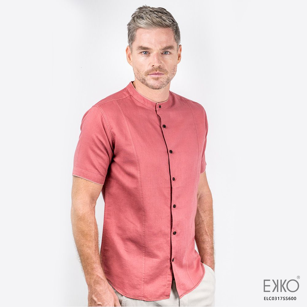 a015e28d Linen Short Sleeve Shirt ELC0317SS600 | LINEN SHORT SLEEVE SHIRTS ...