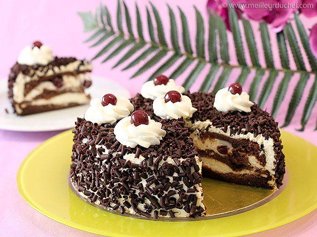 Forêt Noire Recette En 2019 Gourmandises Desserts Cake Et