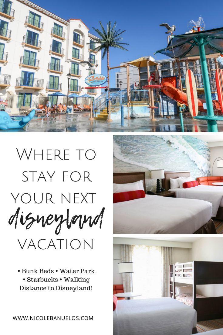 BEST family friendly hotel near Disneyland - LESS than a 10 minute walk!! -