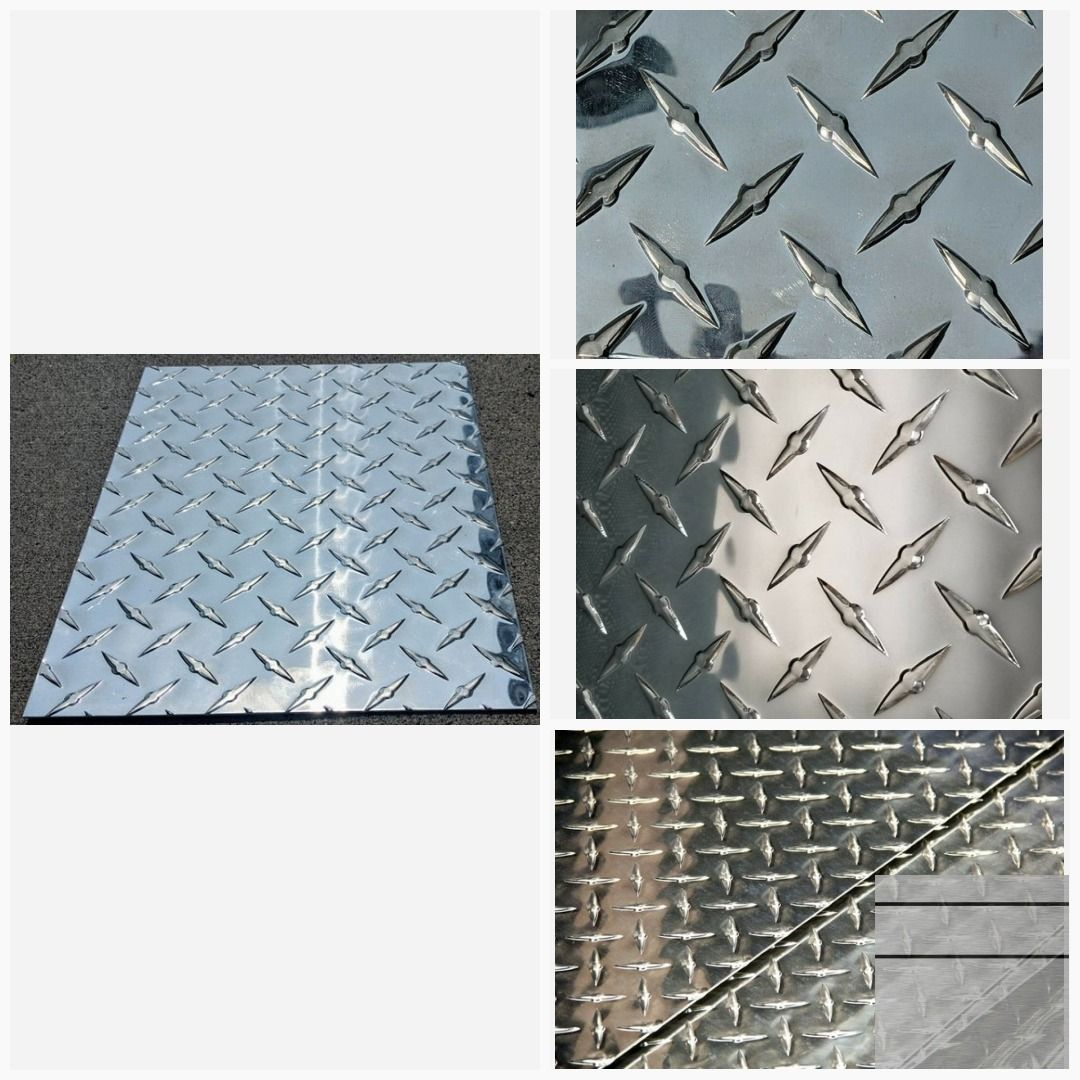 Aluminum Diamond Tread Plate 3003 Sheet 100 60 X Etsy Aluminum Free Diamond Plate Sheet