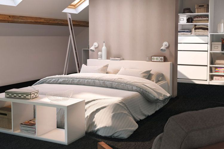 une chambre color e decor pinterest faux murs chambres parentales et parental. Black Bedroom Furniture Sets. Home Design Ideas