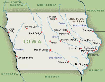 map of mason city iowa Literary Tourism In Iowa Ottumwa Iowa Waterloo Iowa Iowa map of mason city iowa