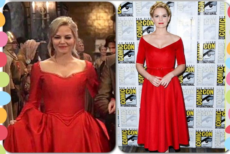 OUAT. Once Upon A Time. Love Jennifer Morrison\'s dress at Comic Con ...