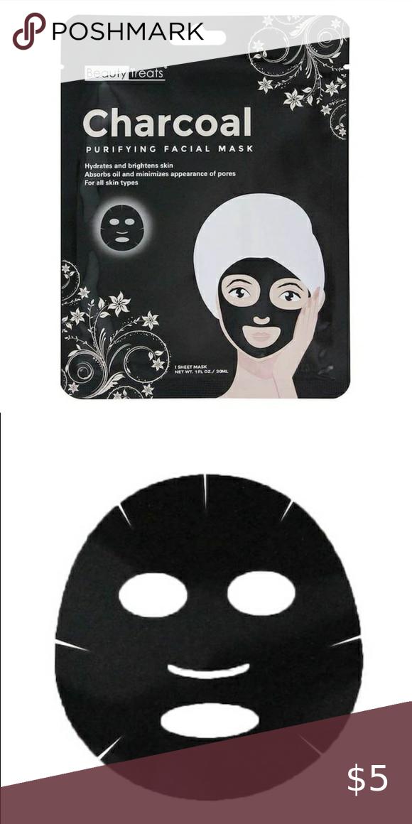 Charcoal Face Mask 3 Pieces Charcoal Face Mask Facial Masks Face