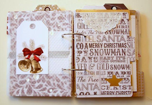 :: danipeuss.de :: BLOG: Tutorial: Dezember Tagebuch von Nadine mit dem Dezember-Tagebuch Minialbum Kit #hallodezember
