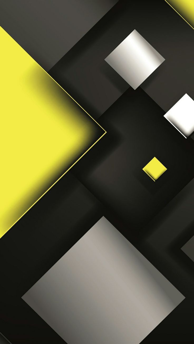 Yellow And Black Abstract Wallpaper From A General Summary