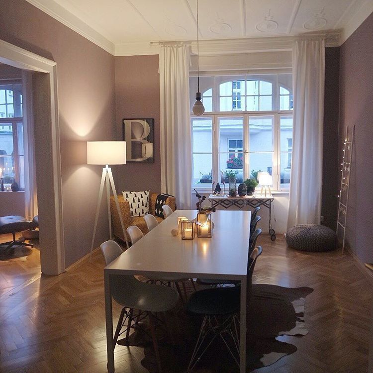 """Wandfarben Zu Weißen Möbeln: """"Ich Liebe Das Spiel Mit Wandfarben Und Tapeten!"""""""